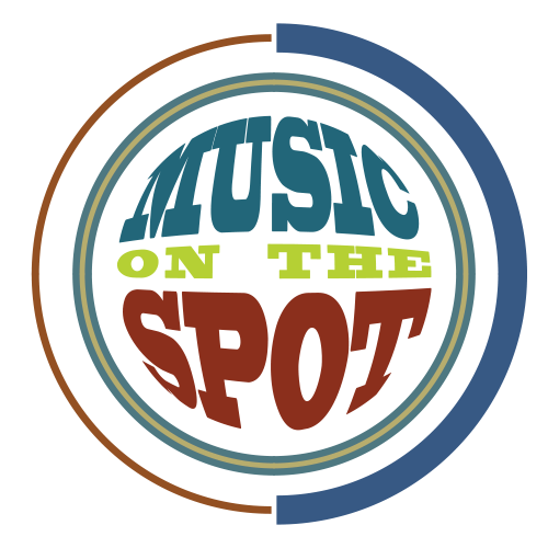 Music on the Spot Logo Retina