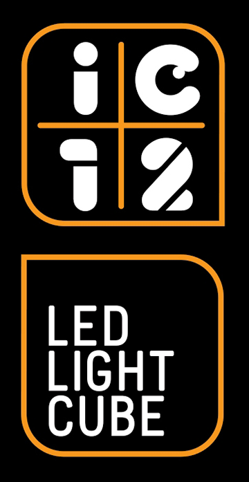 IC12 Led Light Cube, Official Lighting Sponsor of Music on the Spot